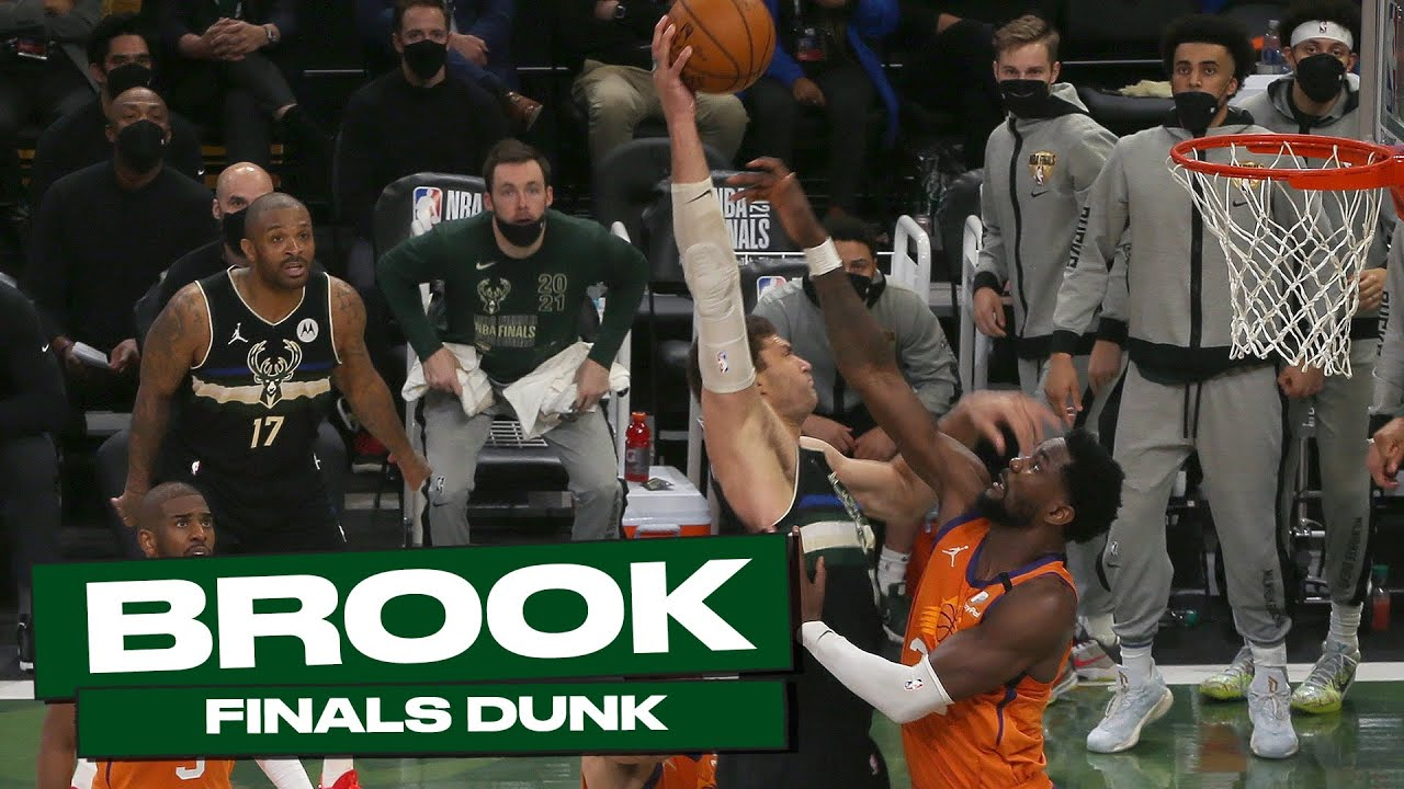 Brook Lopez HYPED UP After BIG-TIME DUNK IN TRANSITION! 🔥