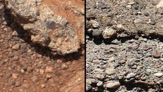 El Curiosity descubre la evidencia de agua en Marte