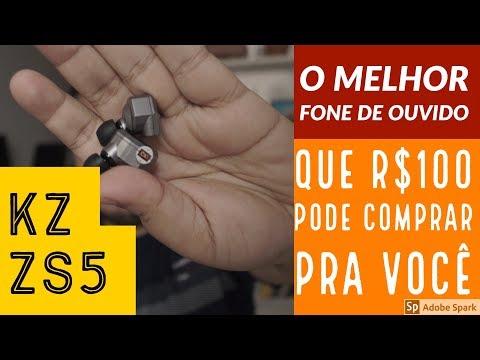 KZ ZS5 - O MELHOR FONE DE OUVIDO QUE R$100 PODE COMPRAR
