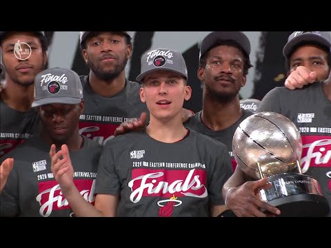 Miami Heat Trophy Presentation Ceremony - 2020 NBA Eastern Conference Champions