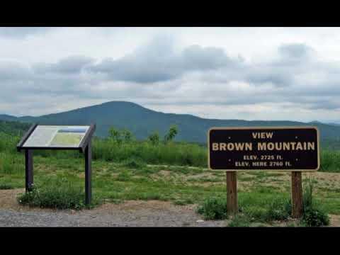 試圖解密~Brown Mountain(2018-1-19)
