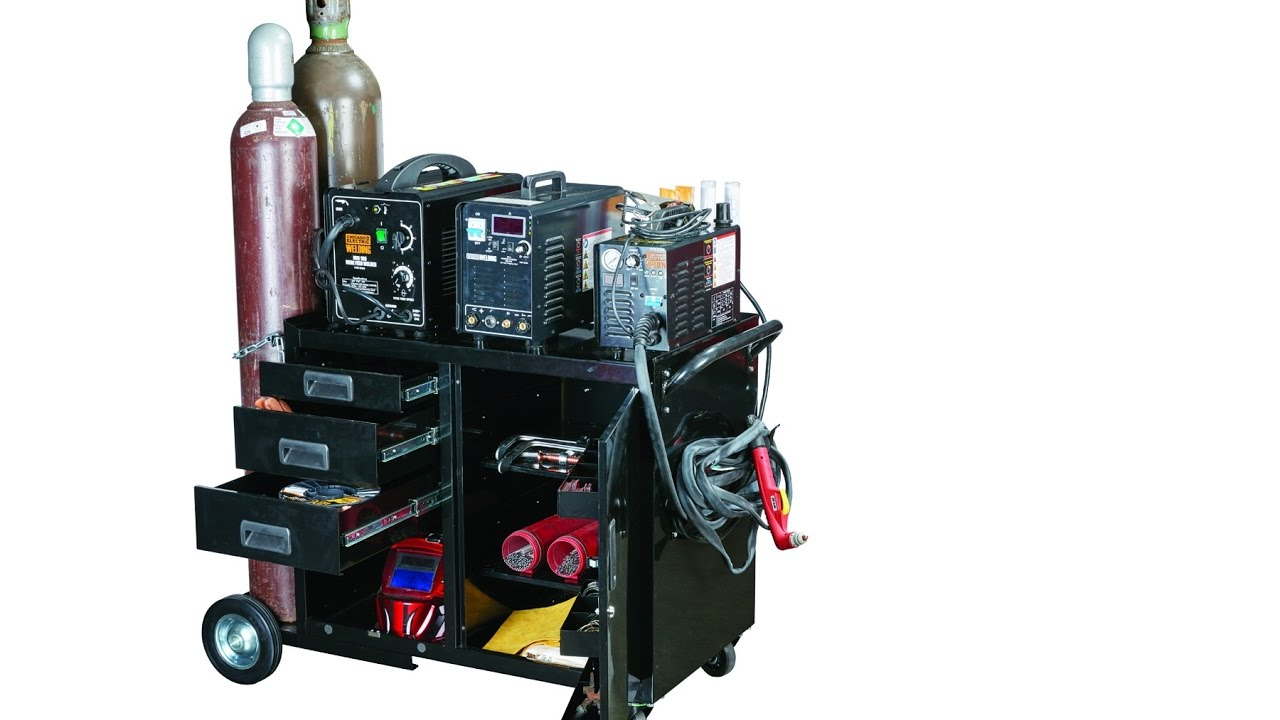 Welding Cabinet Assembly - YouTube