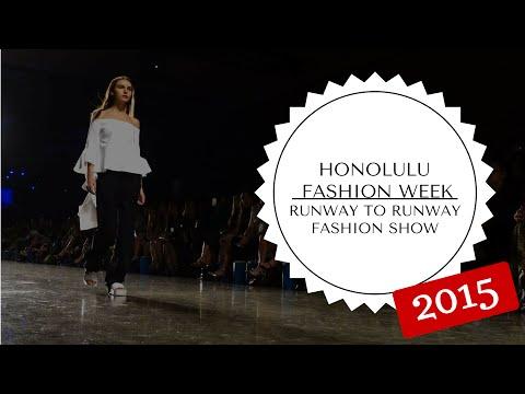 Honolulu Fashion Week 2015 - Runway to Runway Fashion Show - Sony RX100 IV