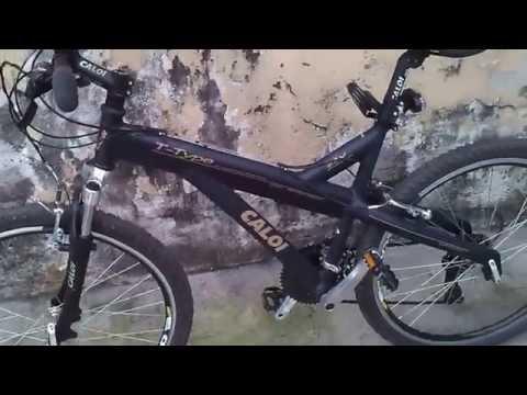 Bicicleta Caloi Aro 26 T-Type MTB Câmbio Shimano
