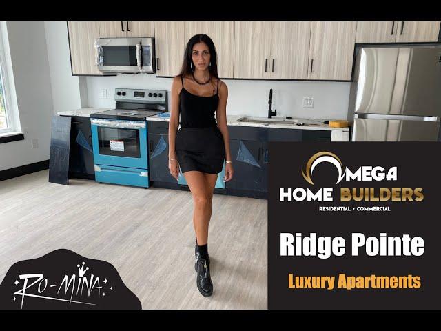 Omega Home Builders ~ RO-MiNA - Ridge Pointe Luxury Apartments - Coming Soon