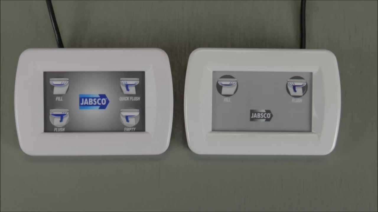 Flush Button Toilet