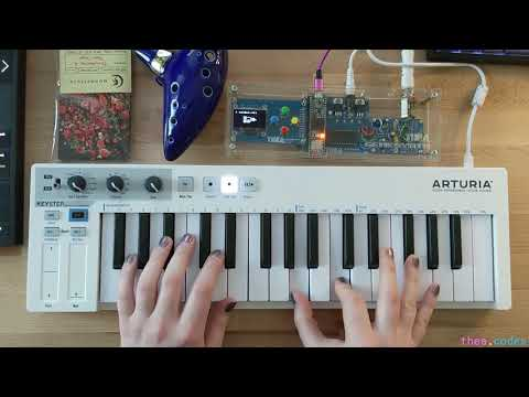 Thea Flowers - Genesynth: A Sega Genesis-inspired synthesizer