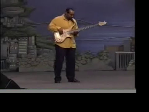 Donnie McClurkin's - Speak to My Heart Kirk Williams Bass Solo (Cover)