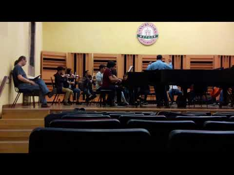 Bach Concierto Doble. Primer ensayo.