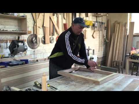 Соединение деревянных деталей под углом 45. Исправление неточностей .(practical advices of furniture смотреть в хорошем качестве