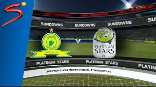 absa premiership 2016 17 mamelodi sundowns vs platinum stars