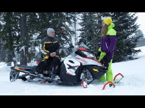 Тест-драйв снегохода Ski-Doo Renegade Backcountry. Квадроциклы и снегоходы. Выпуск 33
