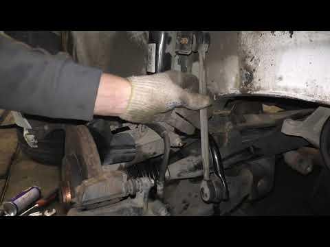 VW Polo Sedan & Skoda Rapid - Замена стойки стабилизатора