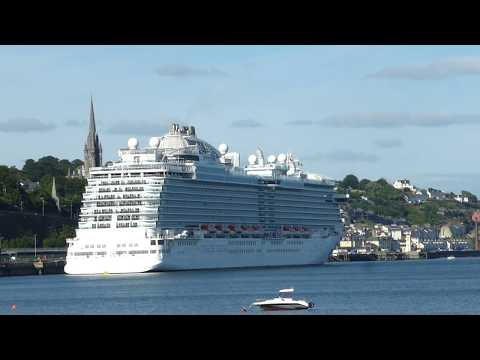 A look along Cobh seafront on 20'06/18.