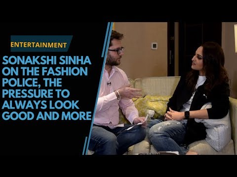 Sonakshi Sinha on the fashion police, the pressure to always look good and more Mp3