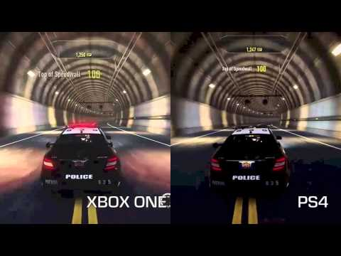 Need for Speed: Rivals PS4 Vs Xbox One Game DVR Comparison