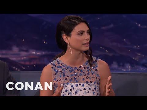 Morena Baccarins 3-Year-Old Son Is Fascinated With The Human Form - CONAN on TBS
