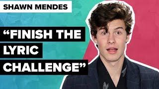 Finish The Lyric Challenge: Shawn Mendes (mega schwer!) | Digster Pop Stories