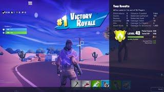 Fortnite Player remporte Battle Royale sans voir d'autres joueurs (Saison 9)