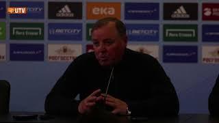 Пресс-конференция после матча ЦСКА - «Урал»