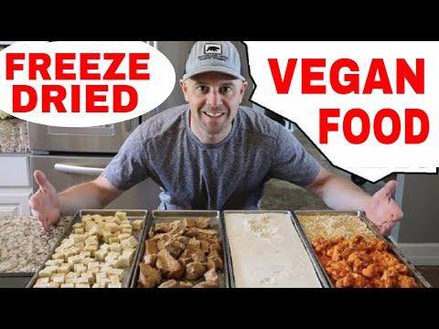 Freeze Dried 🥦Plant Based🥦 Foods...All Vegan & Vegetarian Video