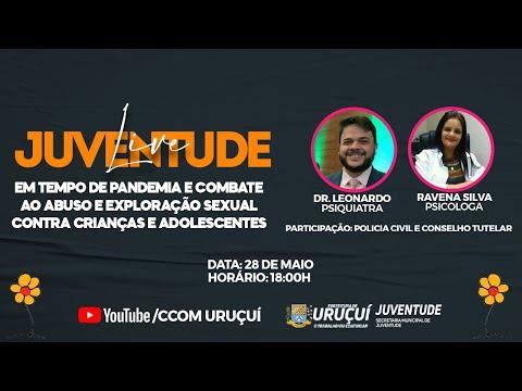 LIVE JUVENTUDE EM TEMPO DE PANDEMIA