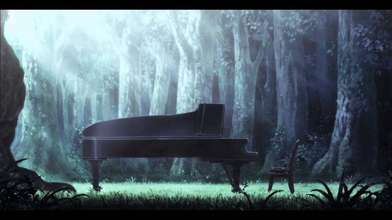 Anime Mix Wallpaper Piano No Mori Piano Forest Ost Track 01 Theme