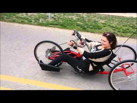 Hand-Powered Recumbent Trike Ride