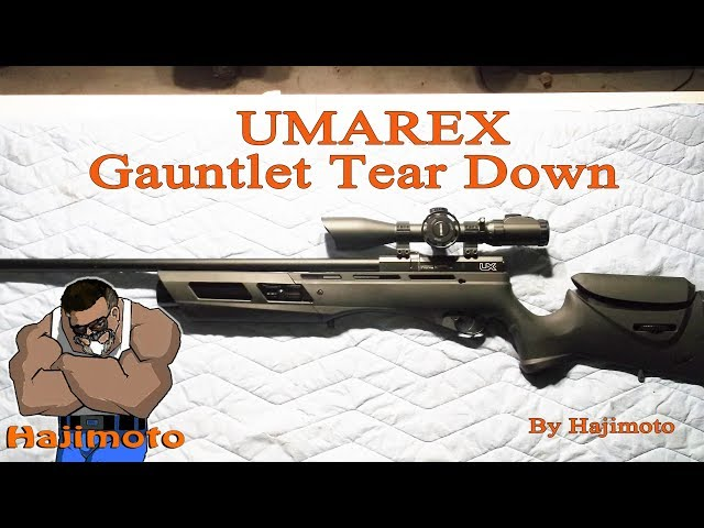 Umarex Gauntlet: Disassembly and Tweaks Download video - get