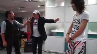 「サルーキ=」chiyoさんとマジック共演しました(#^.^#)