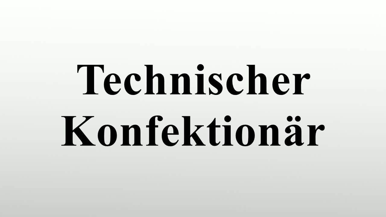 Technischer Konfektionär