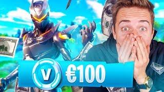 €100 AAN V-BUCKS KOPEN IN FORTNITE!