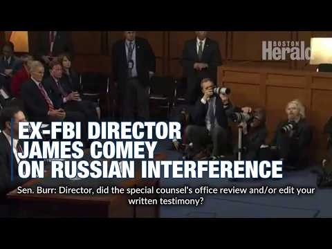 Comey on Russian interference in 2016 Elections
