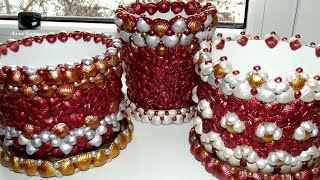 55 Идей Декора Цветочных горшков своими руками