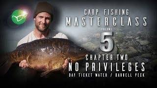 Korda Carp Fishing Masterclass 5: No privileges day ticket water | Darrell Peck | Free DVD 2018
