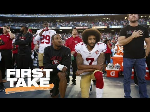 Stephen A. Smith Weighs In On What Charlottesville Means For Kaepernick | First Take | ESPN