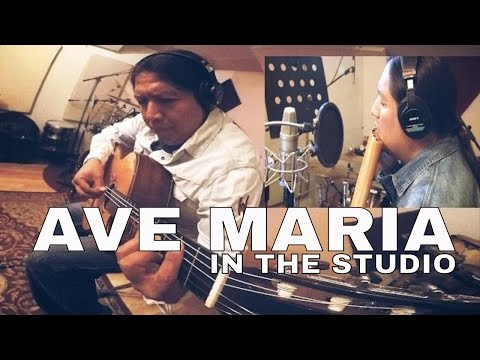 AVE MARIA (PAN FLUTE AND GUITAR) INKA GOLD IN THE STUDIO Best Audio