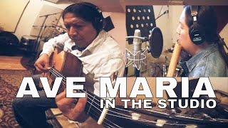 AVE MARIA SCHUBERT PAN FLUTE AND GUITAR | INKA GOLD IN THE STUDIO