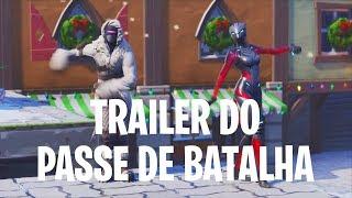 REACT DO TRAILER PASSE DE BATALHA + ANALISANDO TODAS AS SKINS - Fortnite Battle Royale