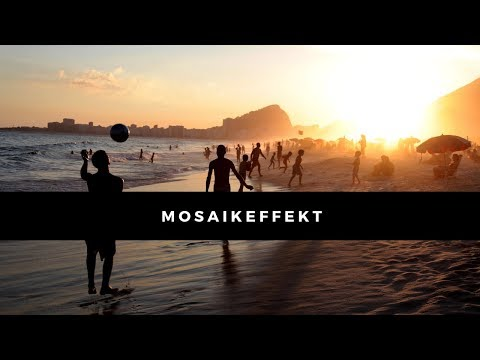 Mosaikeffekt Mit 3 Klicks & Einem Filter #Photoshop