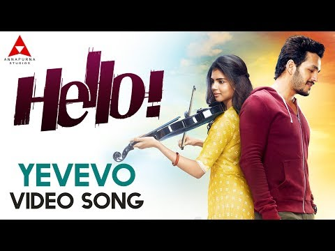 Yevevo Video Song || Hello Video Songs ||...