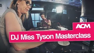 DJ Miss Tyson drops in to ACM Guildford