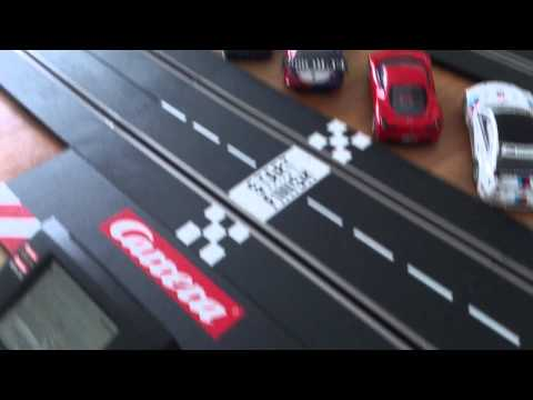 Carrera slot car Pace car demo