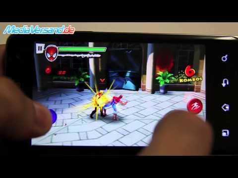 LG P990 OPTIMUS SPEED Spider-Man spielen
