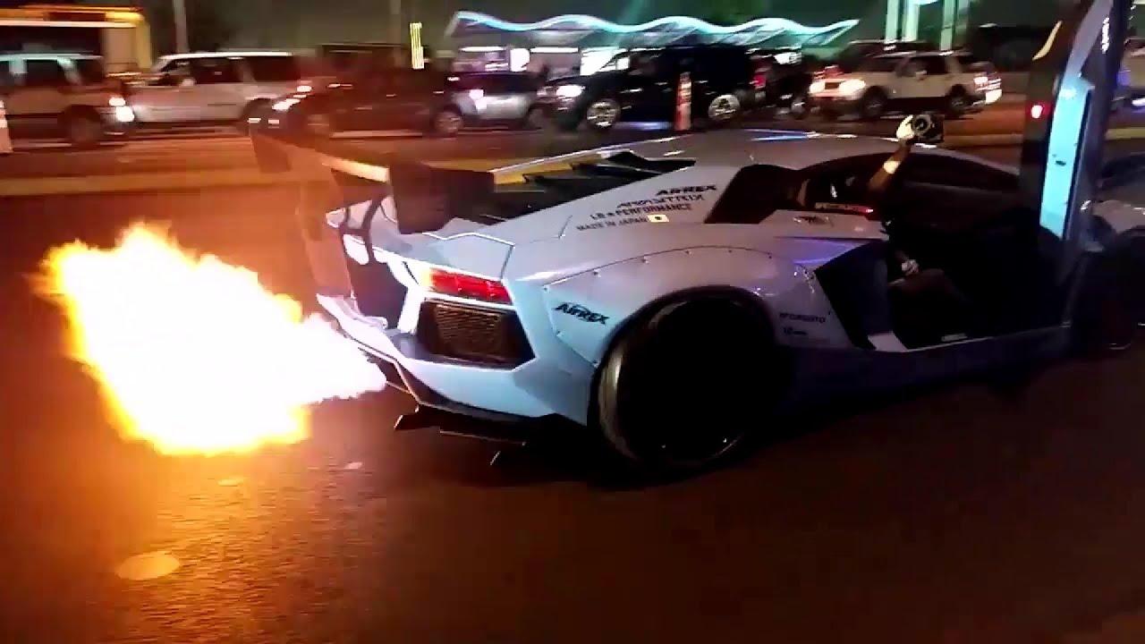 Liberty Walk Lamborghini Lp720 4 Aventador Insane Huge