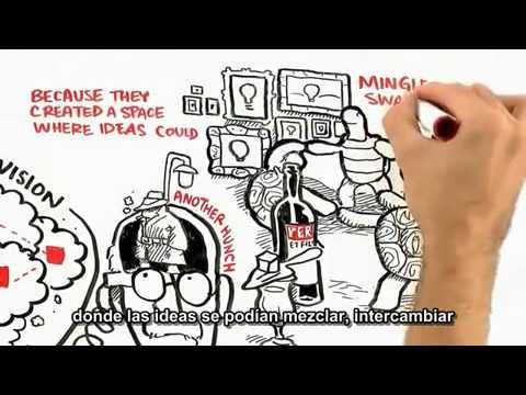 ¿De dónde vienen las buenas ideas? - YouTube