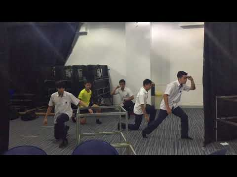 NSINK* Boyband Rehearsals for March 10th 2017 Senior School Assembly