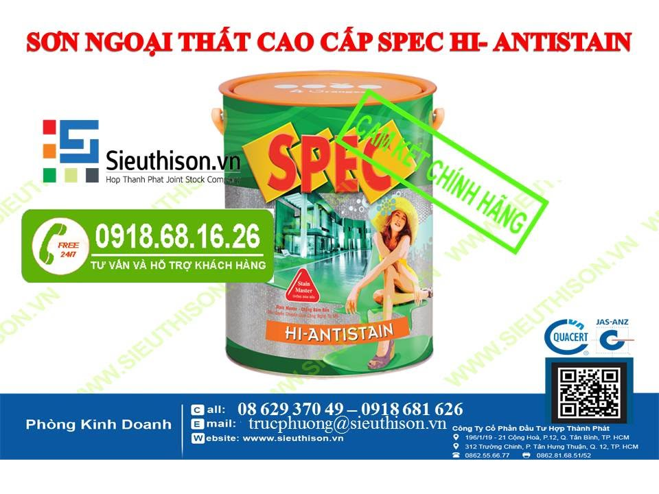 Image result for SƠN SPEC HI-ANTISTAIN