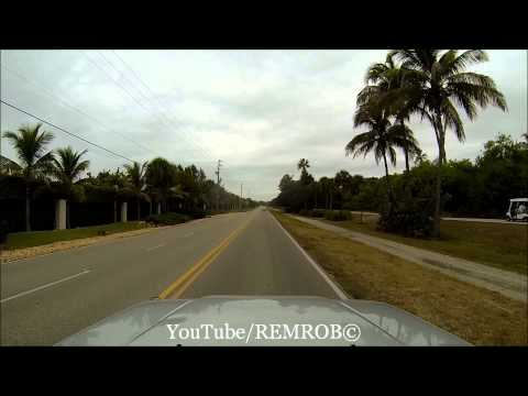 Driving Off Boca Grande Island, Florida