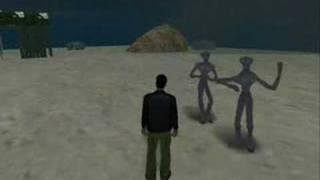 GTA SA - Aliens Found In Desert